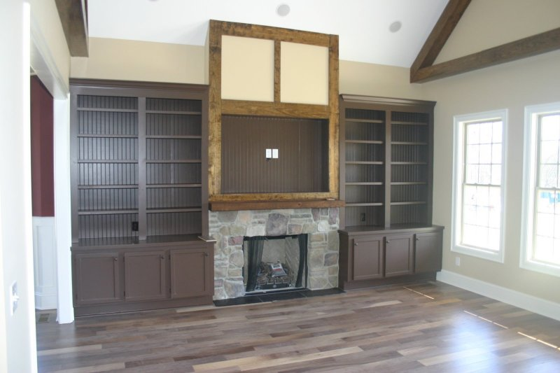 How to Build built in bookshelves plans around fireplace PDF Download