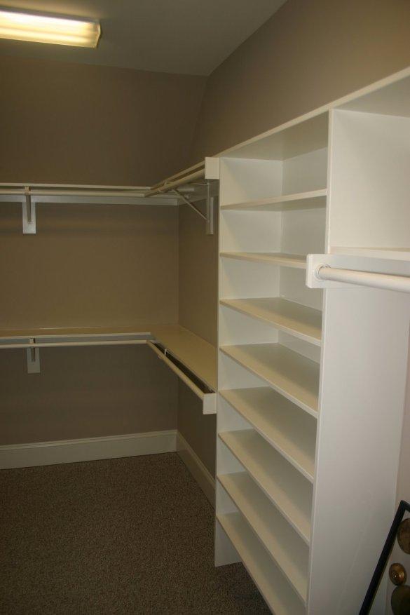 Building Wood Shelves In A Closet, Build... - Amazing Wood Plans